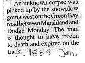 1881 Dodge Corpse