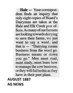 1887 Hale Dairy