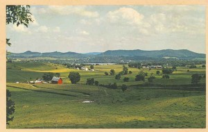 19 70's east view Galesville
