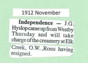 1912 Elk Ck creamery