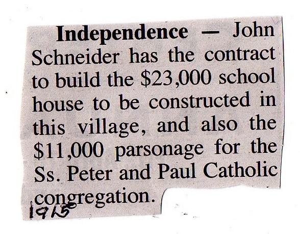 1915 school indep