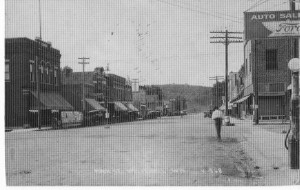 1920's Whitehall_looking north Street