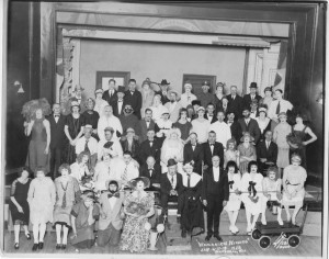 1928 Whitehall_womanless Wedding Play