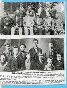 1940's seaver Sylvester family