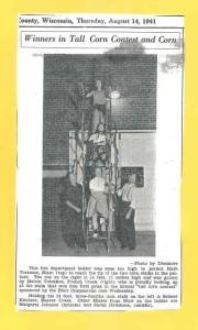 1941 Blair Tall corn