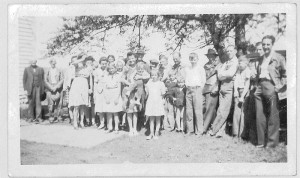 1945 Decorah Prairie School Picnic