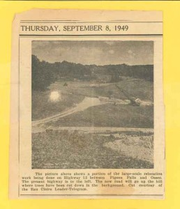 1949 Osseo Road work