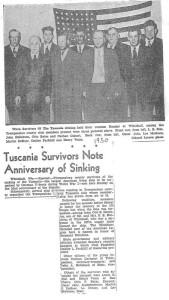 1950 Tuscania Survivors