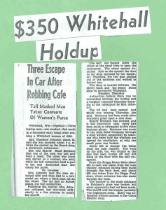 1950 Whitehall robbery