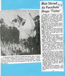 1951 Blair UFO