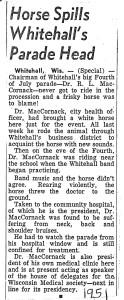 1951 Dr MacCornack