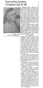 1951 L Larson Mailman