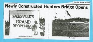 1982 Hunters Bridge