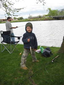 2009 kids' fishing contest