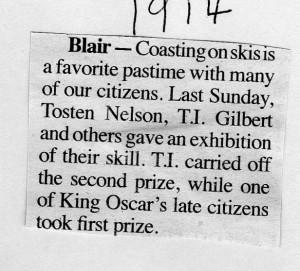 Blair Ski 1914