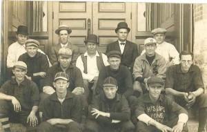 Blair ball team 1920