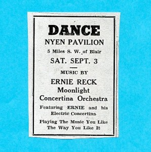 Ernie Reck Ad