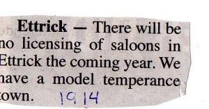Ettrick 1914