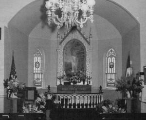 Fagernes altar
