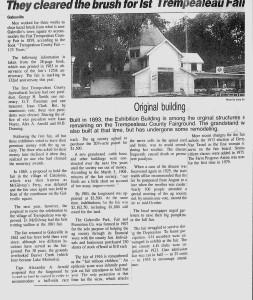 Fair Ground history 1990