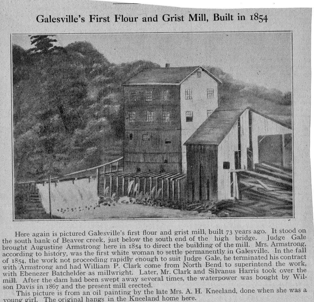 Flour mill 1854