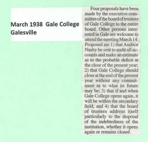 Gale college
