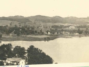 Galesville-west side of Lake 1930
