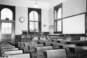 Interior South Branch School