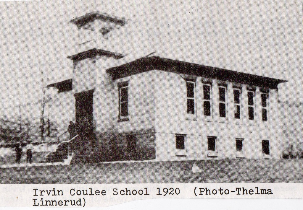 Irvin c school 1920
