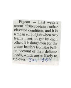 Pigeon roads
