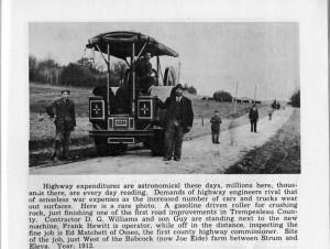 Road work near Joe Eide Farm 1912.jpg
