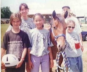 Vicky Docken Nicole Duncan Dana Taysom Jenny Schank Sheilla Docken 4H Horse Camp 2005