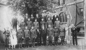 WWI Vets 2 Civil War Vets1919
