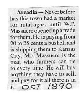 Arcadia Massuere Store 1890