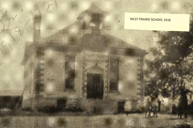 west Prairie school 1918 (640x426)