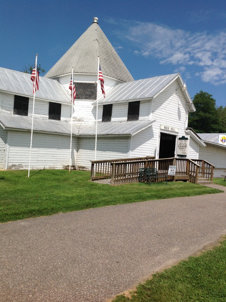 The Homemakers Bldg, oldest structure at the Fairgrounds, built in 1893