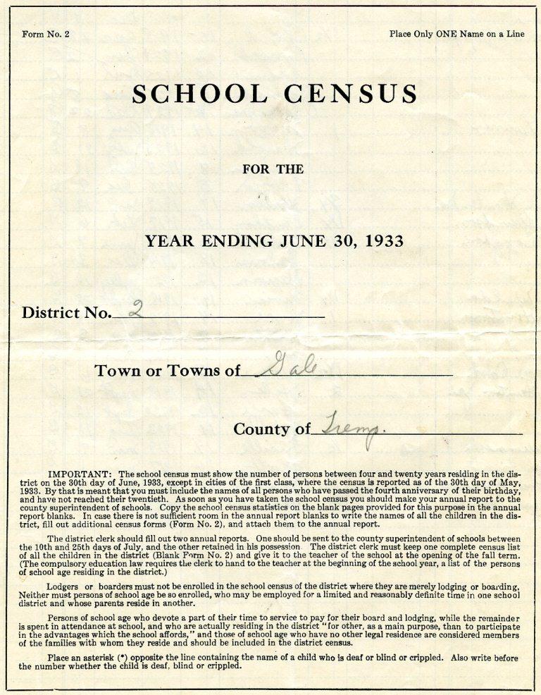 census 1933